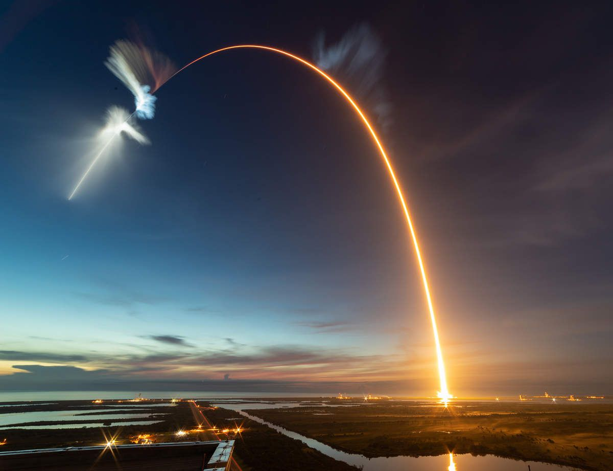 Falcon 9 - CRS-15 - SpaceX - Michael Seeley - Launch - Lancement - Cape Canaveral - APOD - Dragon - ISS - Orbital launches - Bilan - 2018