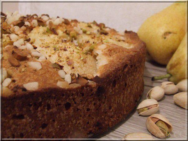 Le gâteau aux poires
