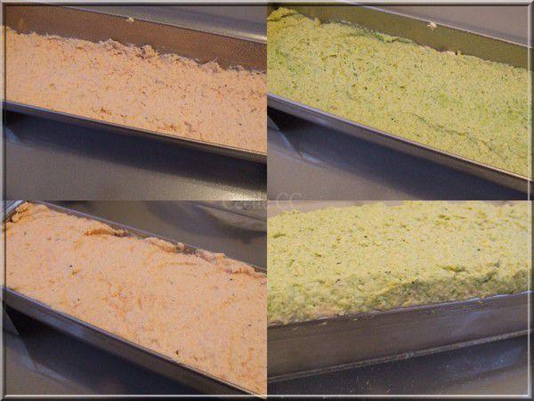 Terrine saumon brocolis