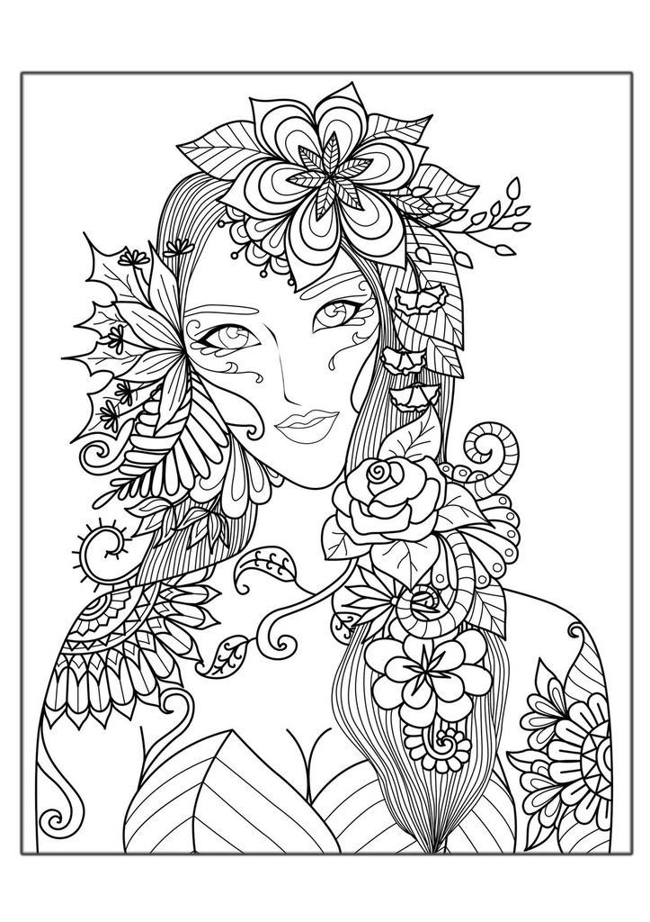 full size coloring pages adults - photo#20