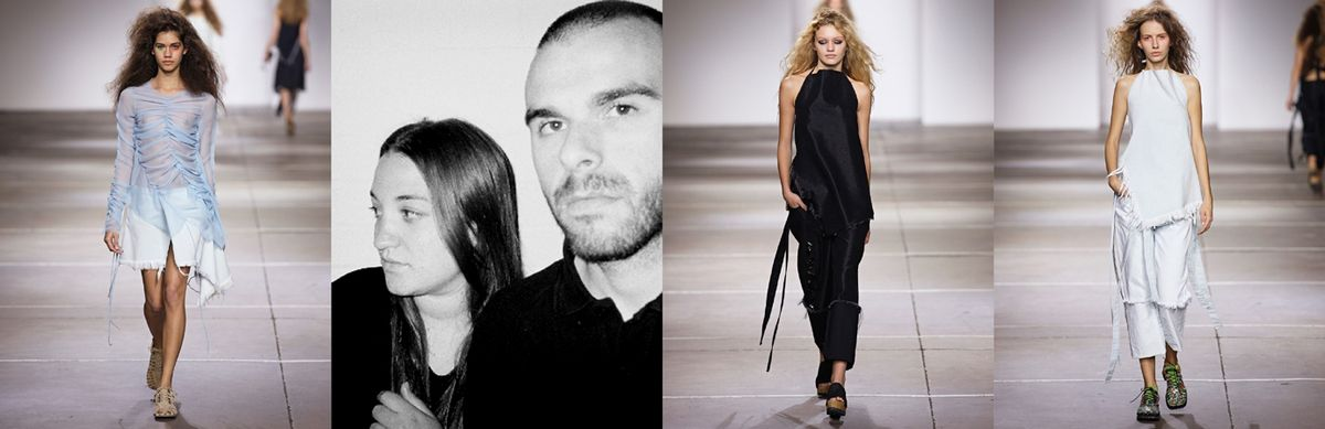 marques'almeida - part of the 26 shortlisted designers for  LVMH prize 2015