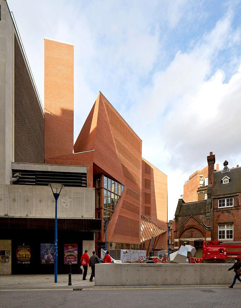 Saw Swee Hock Student Centre, London School of Economics by O'Donnell + Tuomey architects,