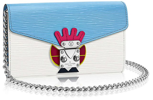 LOUIS VUITTON - THE TRIBAL MASK CHAIN WALLET