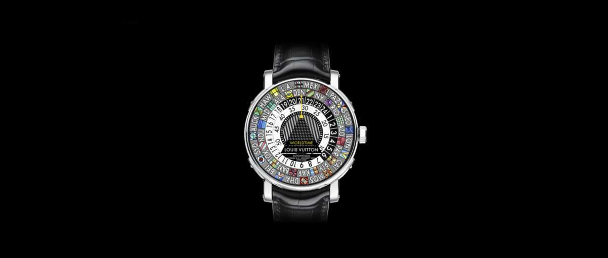 THE SCALE WORLDTIME WATCH by LOUIS VUITTON / LIVING & TRAVELING IN STYLE