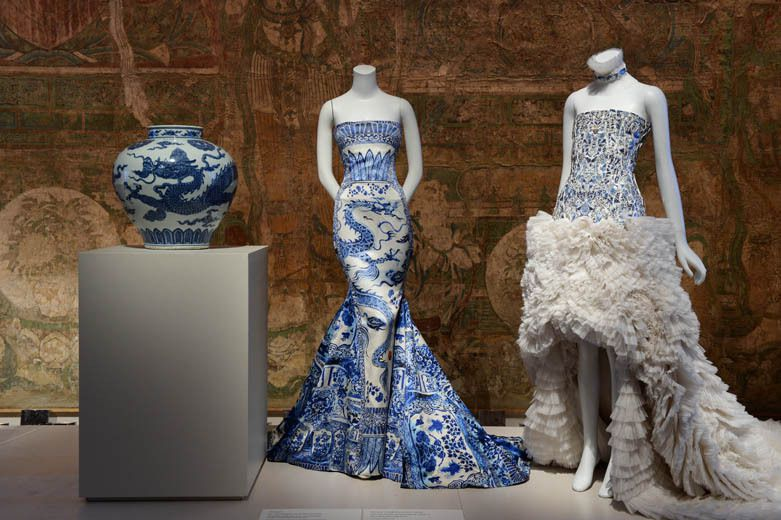 """EXHIBITION IN NYC / """" CHINA : THROUGH THE LOOKING GLASS """" AT THE MET FROM MAY 7 - AUGUST 16, 2015"""