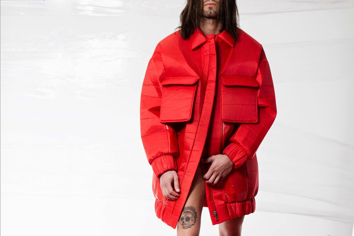 "DAVID CATALAN - "" NO SIGNAL "" FALL WINTER 2015/16"