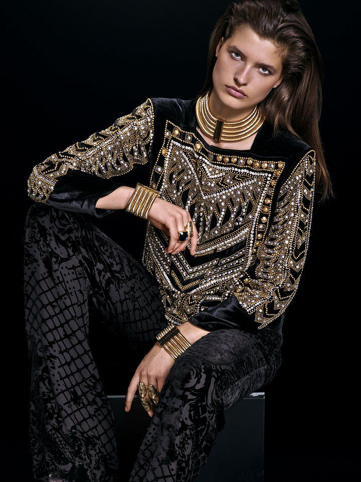 BALMAIN _ H&M COLLECTION / OUT NOV 5 !