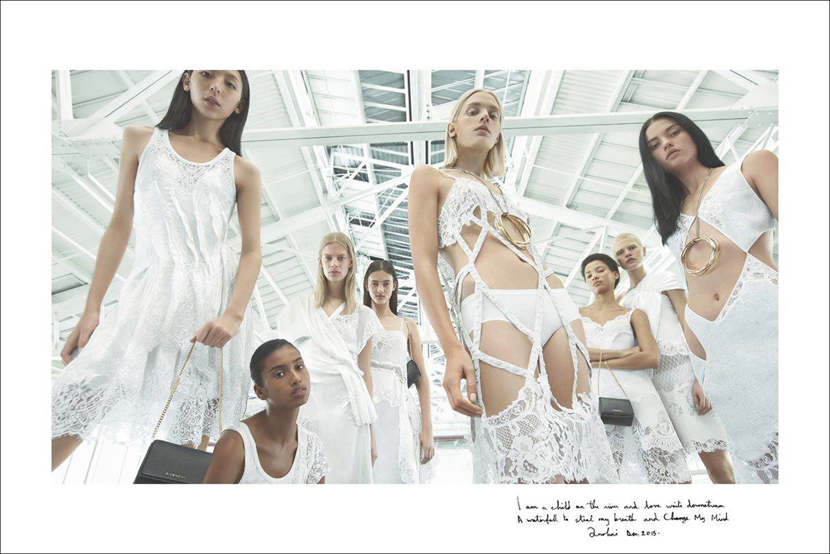 GIVENCHY SPRING/SUMMER 2016 CAMPAIGN