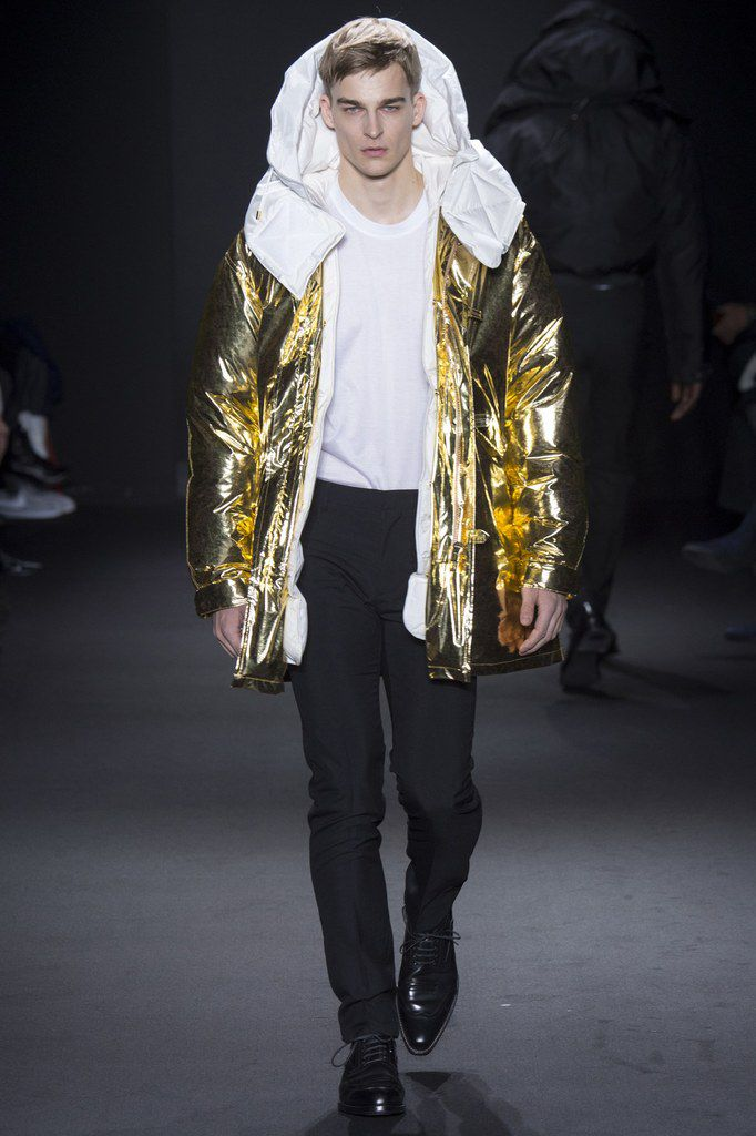 Calvin Klein Collection fall/winter 2016 Menswear.