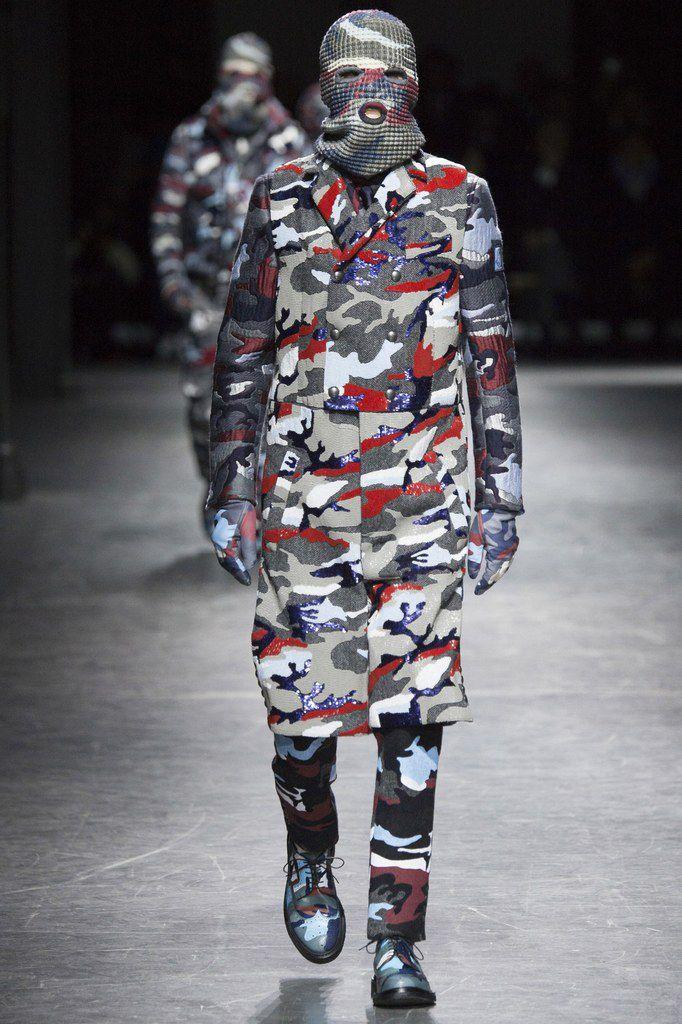 Moncler Gamme Bleu Fall/Winter 2016 Menswear.