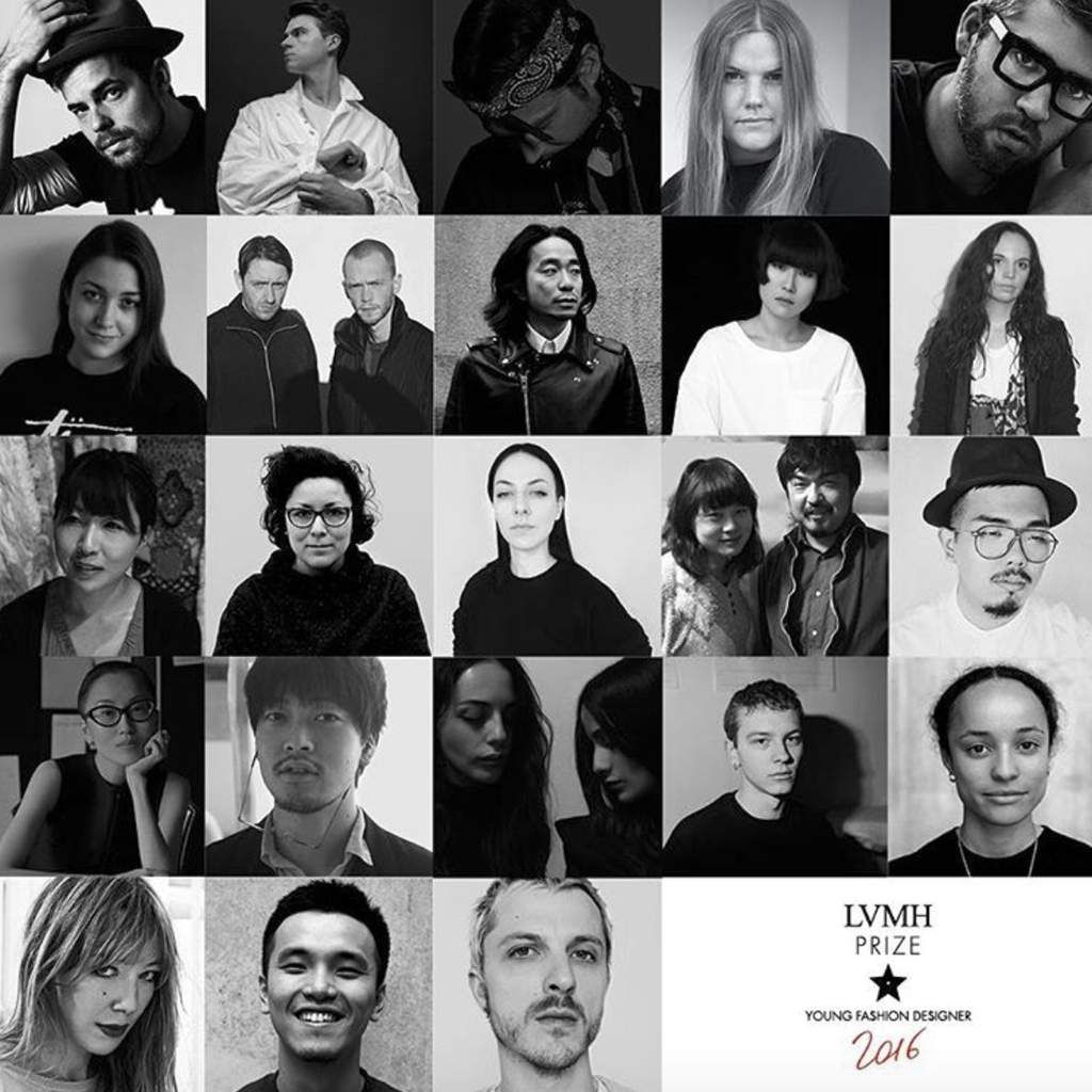 THE SHORTLISTED DESIGNERS ANNOUNCED / LVMH PRIZE YOUNG FASHION DESIGNER 2016