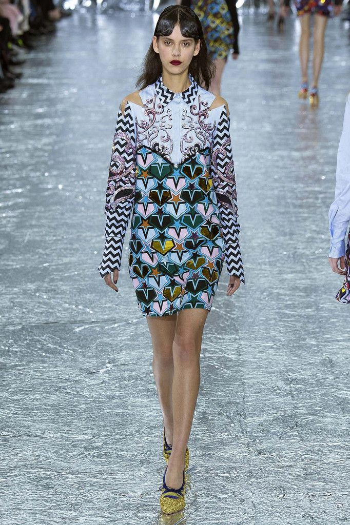 MARY KATRANTZOU / FALL WINTER 2016 LFW