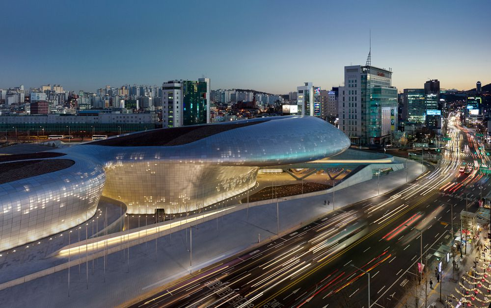 DDP, Seoul by Zaha Hadid : photo (c) Virgile Simon Bertrand