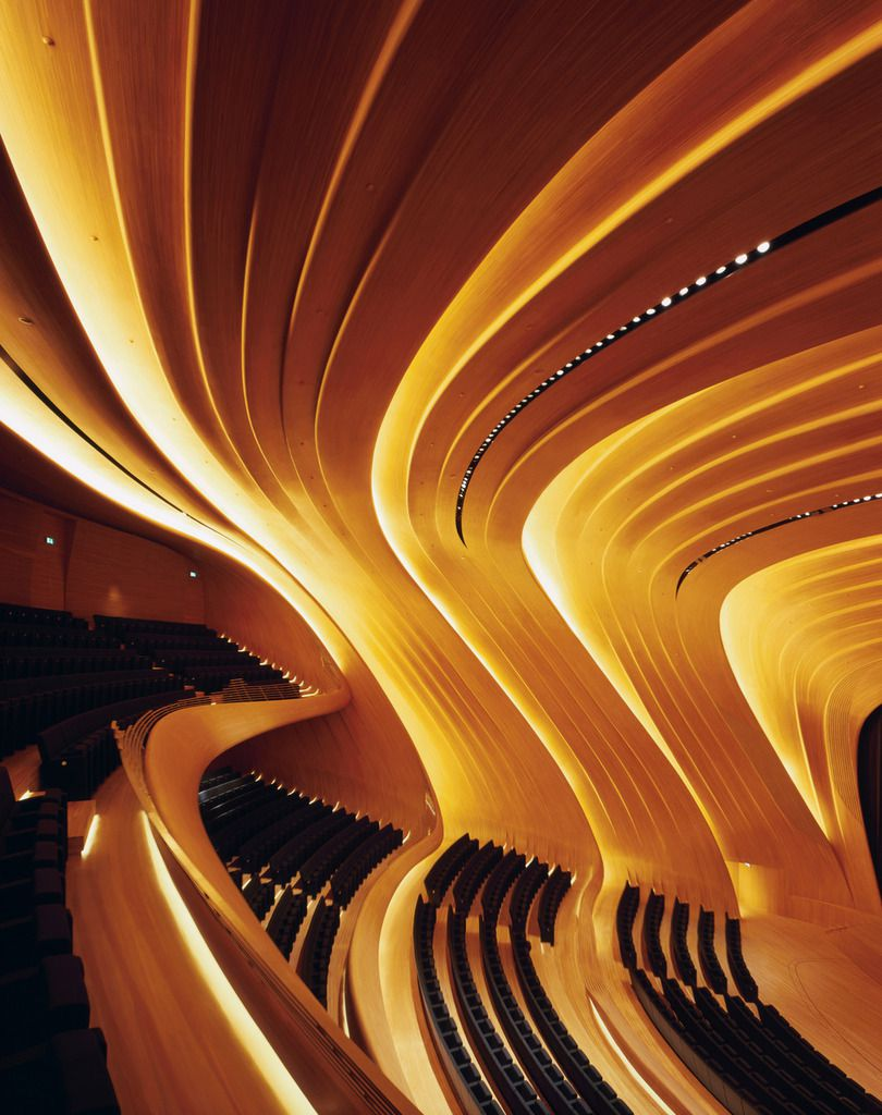 Haydar Aliyev Center, Baku by Zaha Hadid : photo (c) Helene Binet