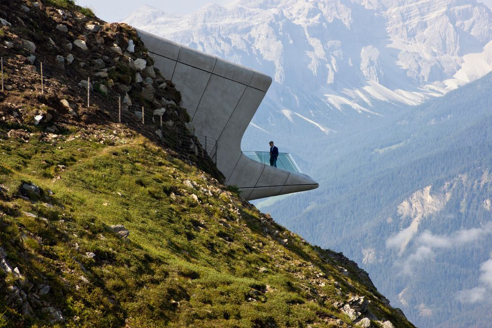 Messner Mountain Museum Corones by Zaha Hadid : photo (c) Inexhibit