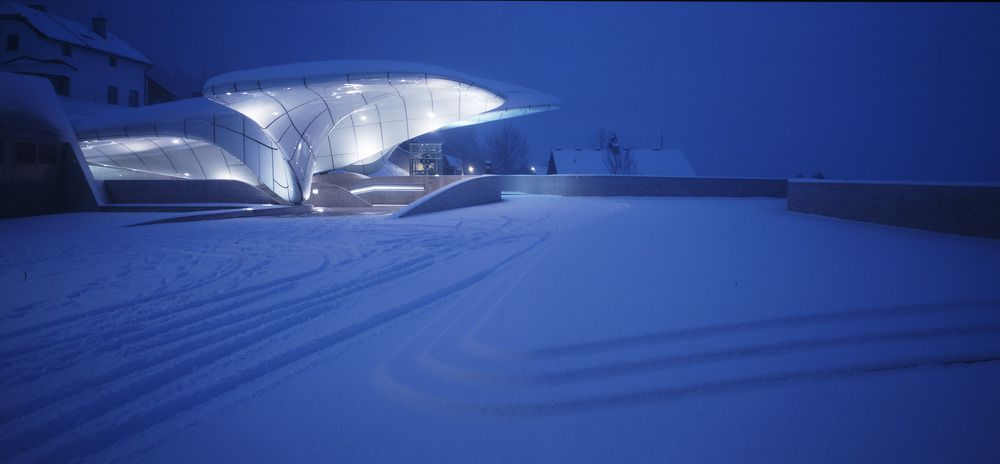 Nordpark Railway Stations (Hungerburg Station) Innsbruck by Zaha Hadid : photo (c) Werner Huthmacher