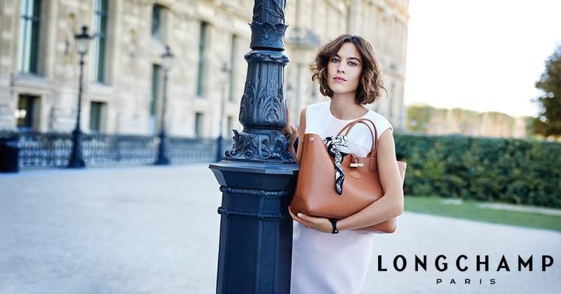 LONGCHAMP / SUMMER 2016 AD CAMPAIGN WITH ALEXA CHUNG