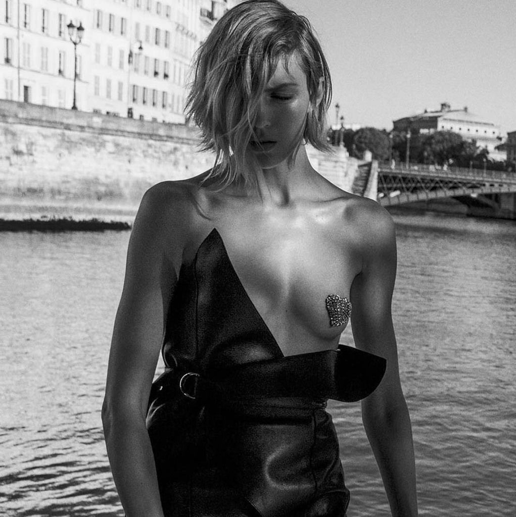 SAINT LAURENT SPRING SUMMER 2017 CAMPAIGN WITH ANJA