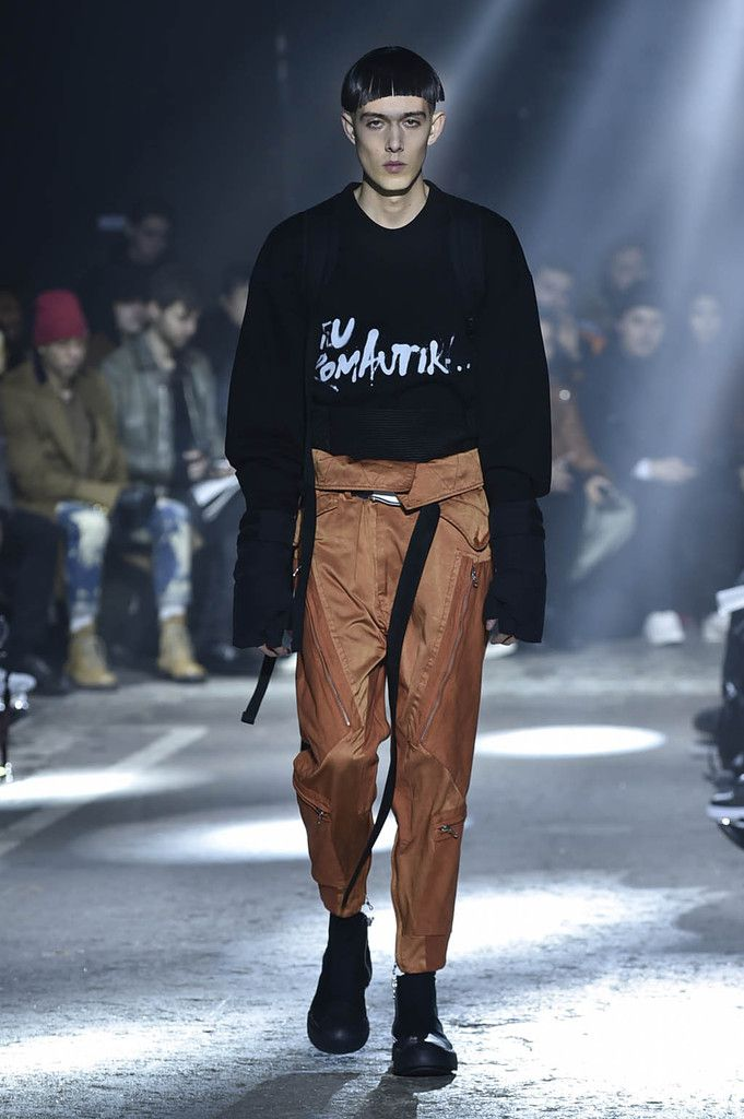 Julius aw17 / mens pfw