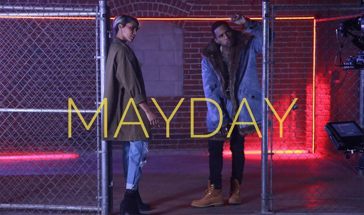 VIDEO / SHY'M FEAT KID INK - MAYDAY