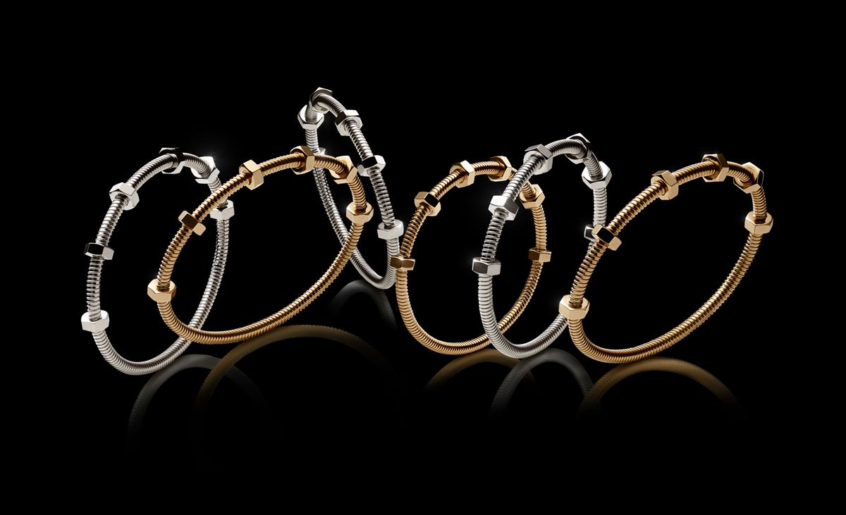 JUSTE UN CLOU & THE ECROU COLLECTION by CARTIER / WHEN THE ORDINARY BECOMES PRECIOUS