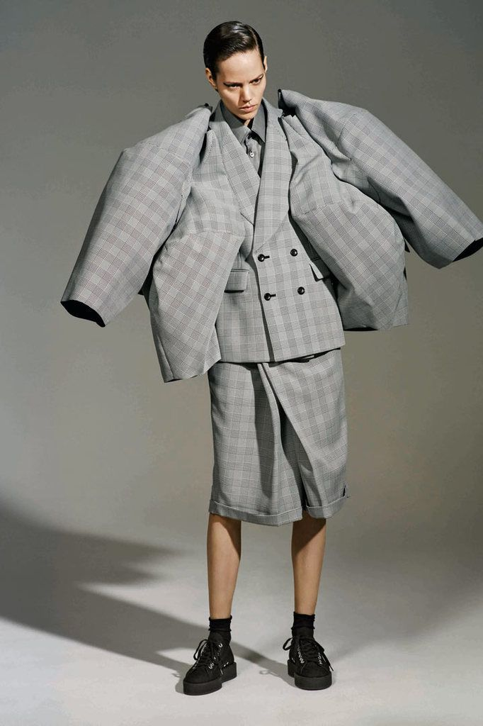 Rei Kawakubo (Japanese, born 1942) for Comme des Garçons (Japanese, founded 1969). The Infinity of Tailoring, autumn/winter 2013–14; Courtesy of Comme des Garçons. Photograph by © Collier Schorr