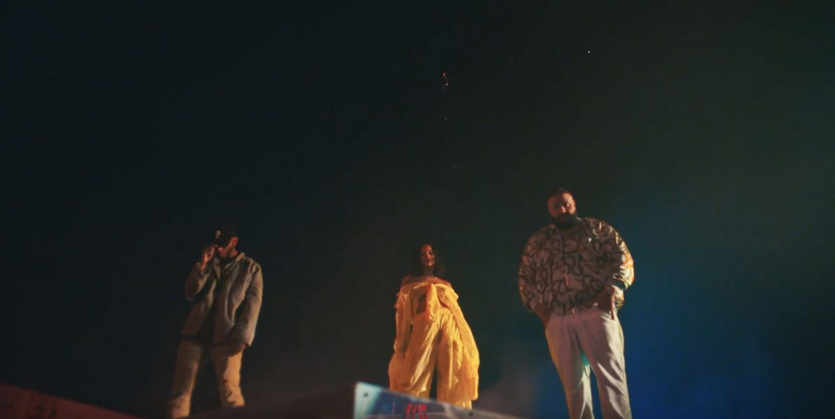 RIHANNA, DJ KHALED AND BRYSON TILLER _ WILD THOUGHTS (VIDEO)