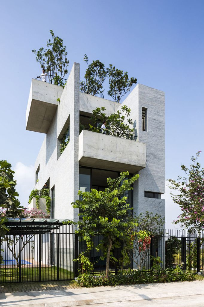 House - Vo Trong Nghia Architects - Binh House