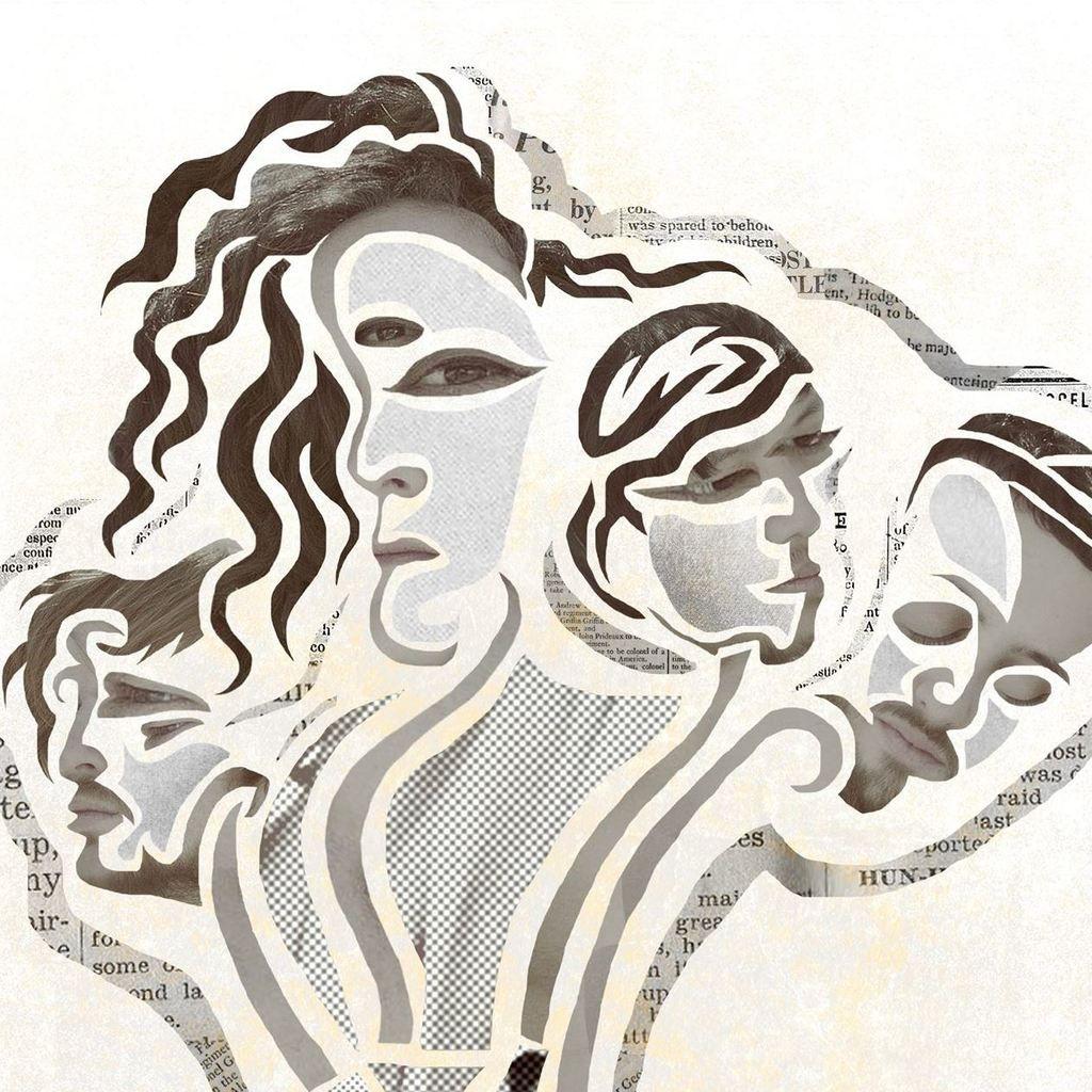 BROOKLYN ART POP OUTFIT IRIS LUNES SHARES NEW SINGLE 'PAPER MACHE'