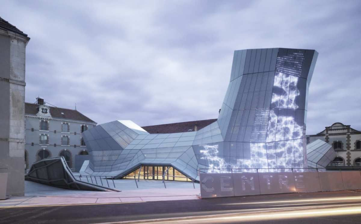 FRAC Centre / Building by Jakob & Macfarlane in Orleans.