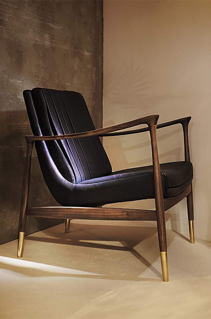 Hudson Armchair by Essential Home / Mid Century Furniture