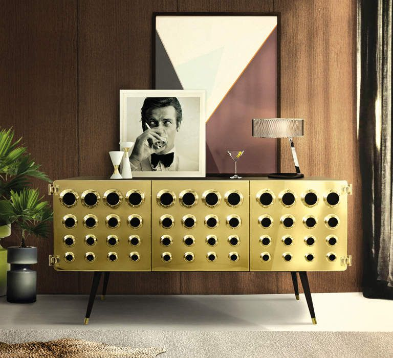 Monocle sideboard by Essential Home / Mid Century Furniture