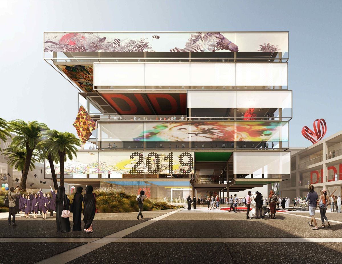 FOSTER + PARTNERS DESIGNS 'DIDI' DUBAI INSTITUTE OF DESIGN AND INNOVATION