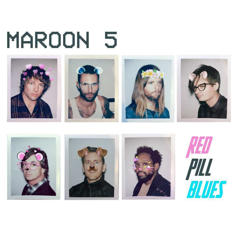 "PREVIEW / MAROON 5 ""RED PILL BLUES"" NEW ALBUM"