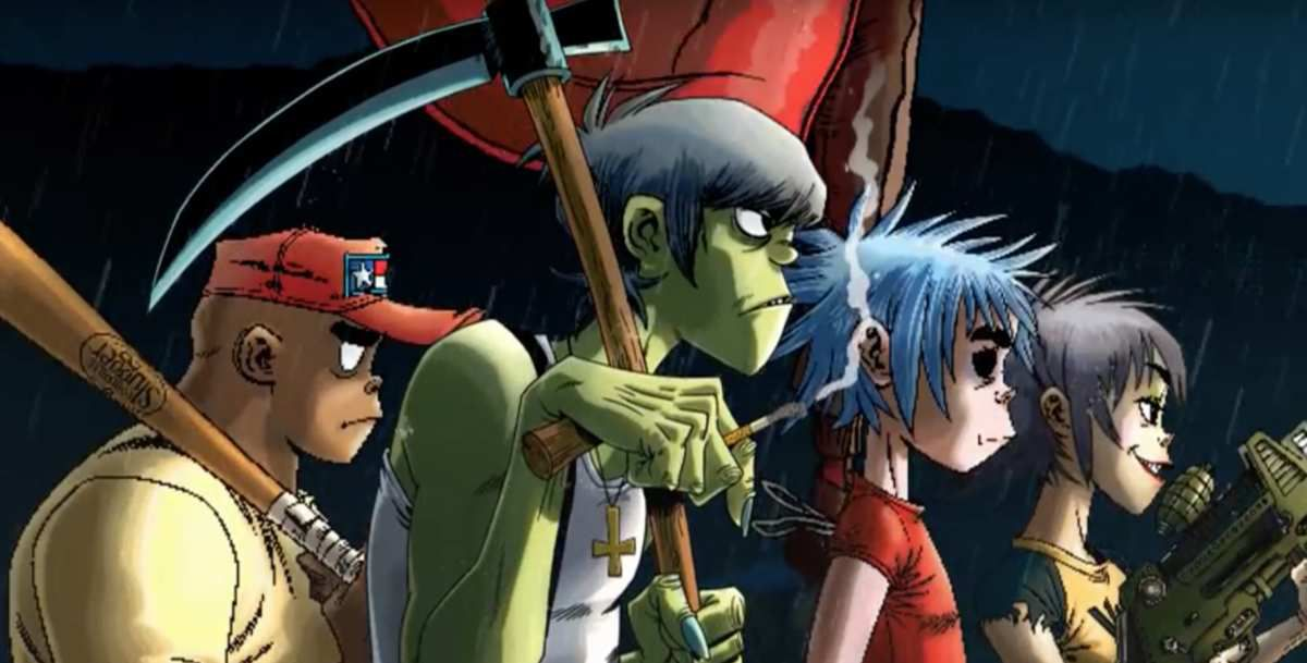 INTRODUCING GORILLAZ + LITTLE SIMZ WITH A NEW TRACK 'GARAGE PALACE'