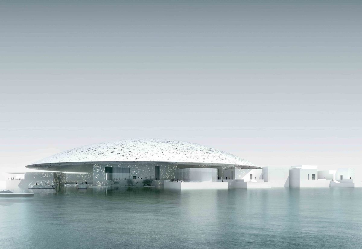 OPENING WEEK / THE LOUVRE ABU DHABI MUSEUM by JEAN NOUVEL ARCHITECT OPENS NOV 11, 2017