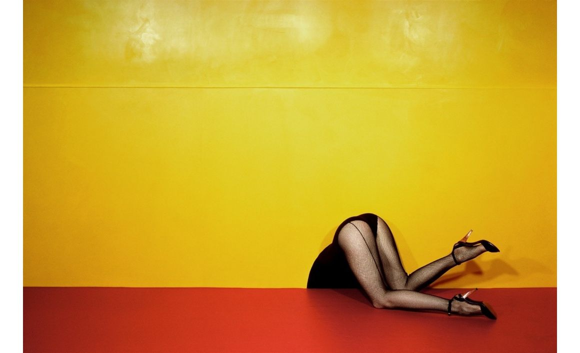 ©The Guy Bourdin Estate 2017 / Courtesy of Louise Alexander Gallery Fujiflex Crystal Archive Print