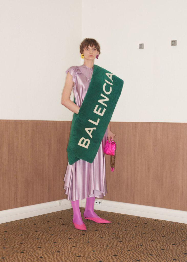 Balenciaga Resort 2018 collection.