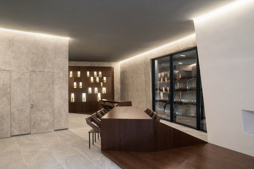 WINE AND BRANDY DISTILLERY MUSEUM AND WAREHOUSE FOR ALLIANCE 1892 by TOTEMENT PAPER