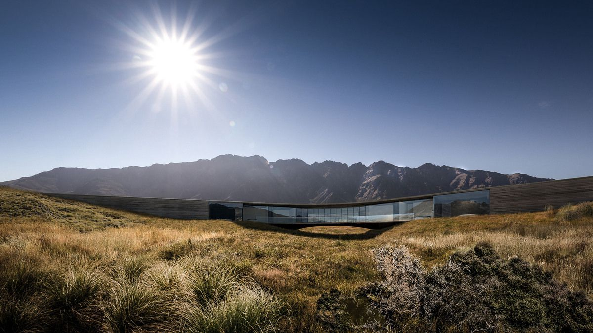 QUEENSTOWN X-HOUSE by MONK MACKENZIE ARCHITECTS, WINNER OF HOUSE-FUTURE PROJECTS CATEGORY AT WAF2017.