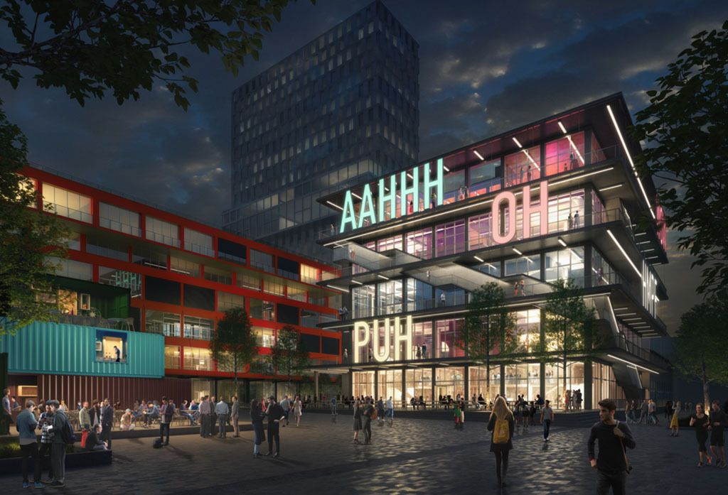 WERK12 BY MVRDV IN THE MUNICH NEW EMERGING AREA