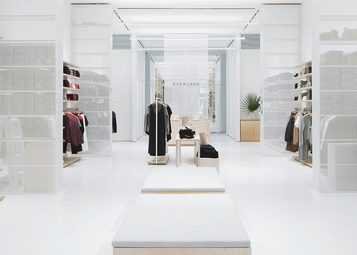 EVERLANE'S FIRST STORE IN NEW YORK AT 28 PRINCE STREET