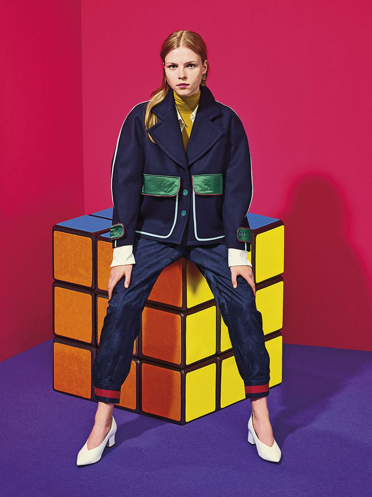 MIKO MIKO PREMIERE COLLECTION, TAKING INSPIRATION IN BAUHAUS, SWINGING LONDON, SONIA DELAUNAY, JEAN PAUL GOUDE ...