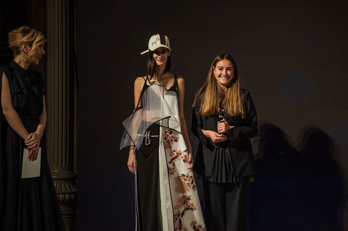 BEATRICE MASON from POLIMODA / Best Collection per Country Winner for  ITALY