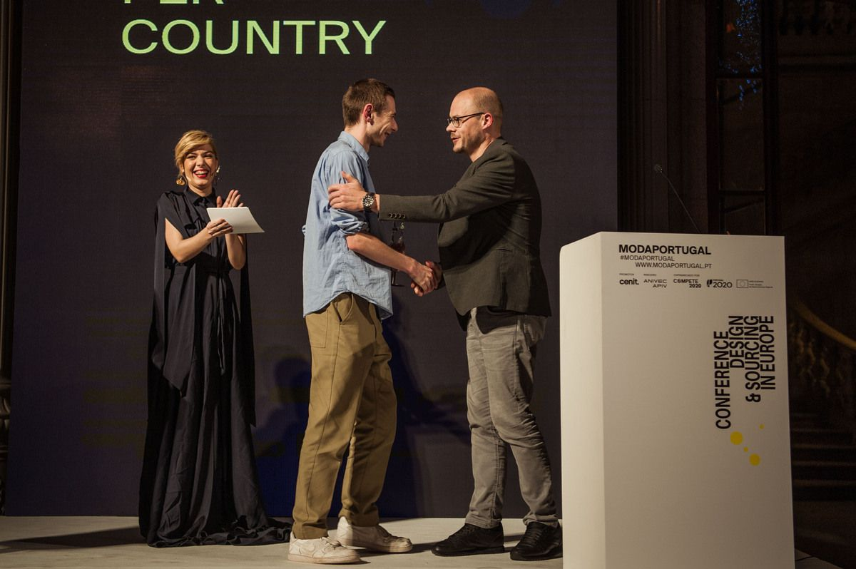 CYRIL BOUREZ from LA CAMBRE /  Best Collection per Country Winner for BELGIUM