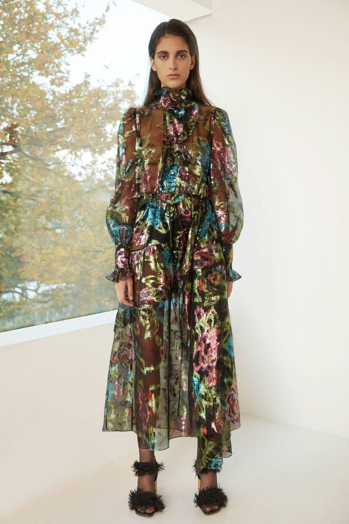 PREEN by THORNTON BREGAZZI PRE FALL 2018 WOMENSWEAR COLLECTION