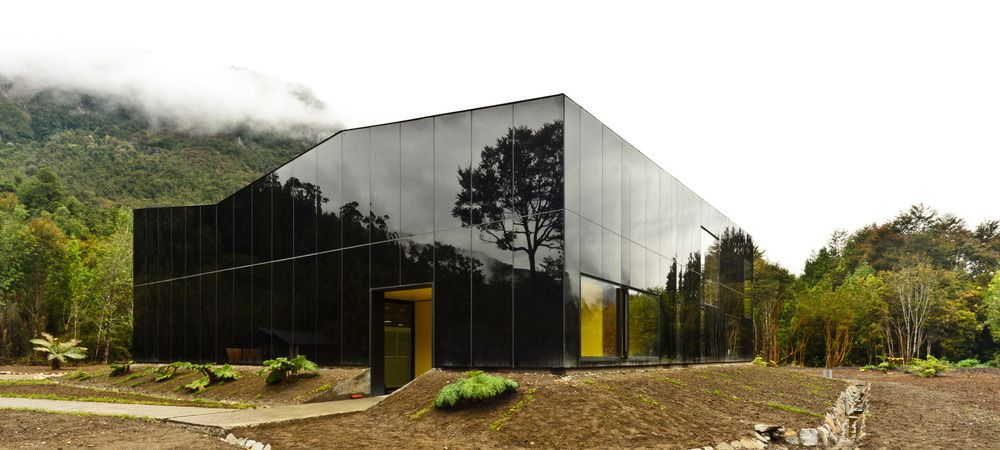 GLACIAL WATER BOTTELING PLANT IN PATAGONIA CHILE by PANORAMA ARCHITECTS