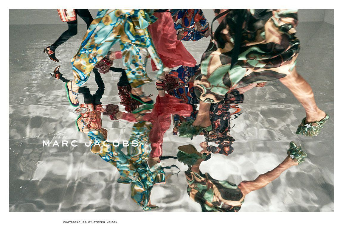 MARC JACOBS SPRING 2018 AD CAMPAIGN BY STEVEN MEISEL