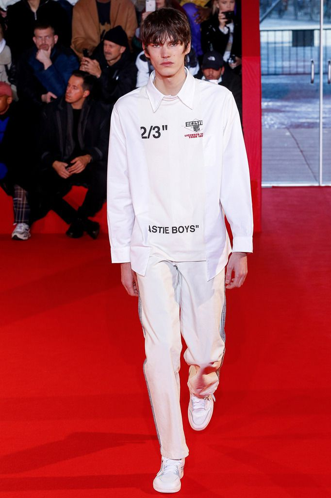 OFF WHITE FALL 2018 MENSWEAR COLLECTION PFW