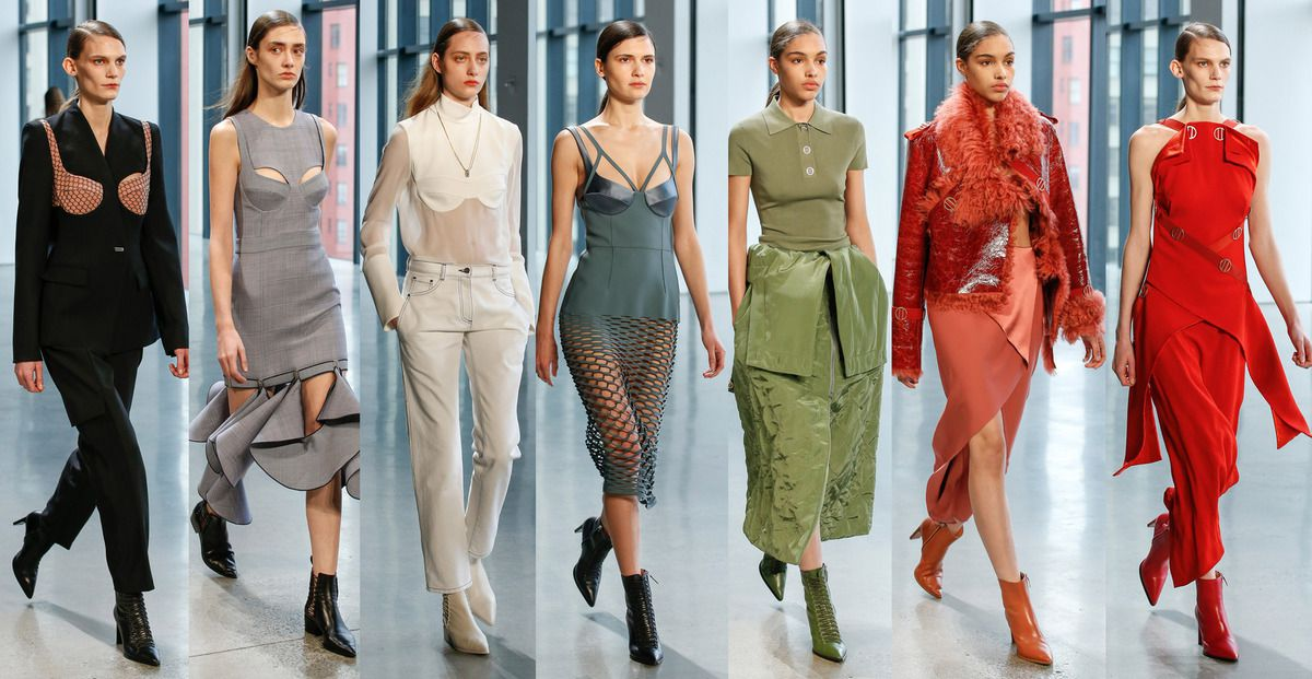 DION LEE FALL 2018 READY TO WEAR COLLECTION NYFW